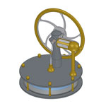KS90V Stirling engine manual