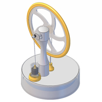 KS80 Stirling engine manuals