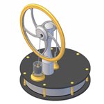 KS90S Stirling engine instructions